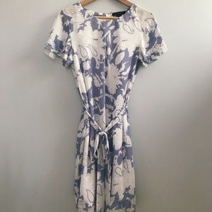 Banana Republic | Lavender and White Floral Dress